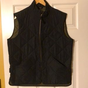 J CREW MERCANTILE men's vest w/zipper &pockets NWT